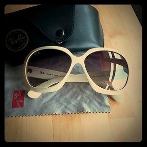 Original Jackie Ohh II ivory Ray Ban sunglasses
